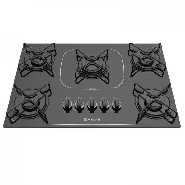 Cooktop-Atlas-5-Bocas-Agile-Up-Glass-com-Acendimento-Superautomatico-e-Mesa-de-Vidro-Preto-–-Bivolt