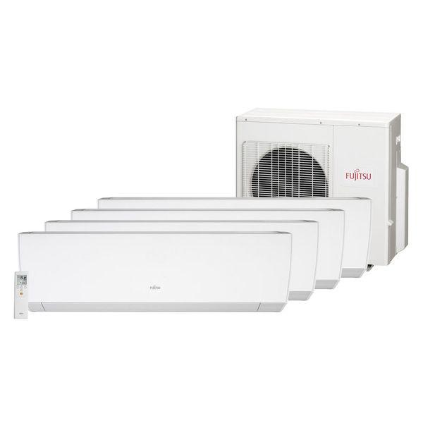 Ar-Condicionado-Multi-Split-Inverter-Fujitsu-3x9.000-e-1x18.000-BTU-h-Quente-e-Frio-Monofasico-AOBG30LAT4-–-220-Volts