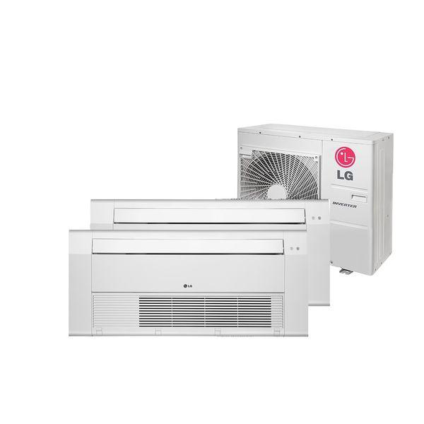 Ar Condicionado Multi Split Inverter LG Cassete 1 Via 1x9.000 e 1x18.000 BTU/h Quente e Frio Monofásico A3UW24GFA2.AWGZBRZ – 220 Volts