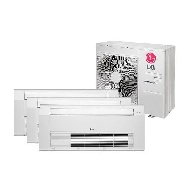 Ar-Condicionado-Multi-Split-Inverter-LG-Cassete-1-Via-2x9.000-e-1x18.000-BTU-h-Quente-e-Frio-Monofasico-A3UW24GFA2.AWGZBRZ-–-220-Volts
