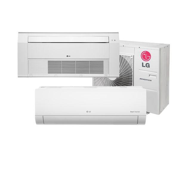 Ar-Condicionado-Multi-Split-Inverter-LG-1x9.000-e-Cassete-1-Via-1x18.000-BTU-h-Quente-e-Frio-Monofasico-A3UW24GFA2.AWGZBRZ-–-220-Volts