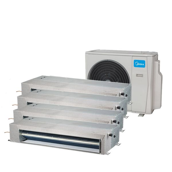 Ar-Condicionado-Multi-Split-Inverter-Springer-Midea-Duto-4x9.000-BTU-h-Quente-e-Frio-Monofasico-38MBMA36M5-–-220-Volts