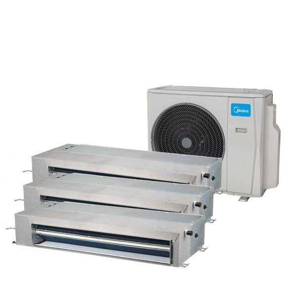 Ar-Condicionado-Multi-Split-Inverter-Springer-Midea-Duto-3x9.000-BTU-h-Quente-e-Frio-Monofasico-38MBTA27M5-–-220-Volts