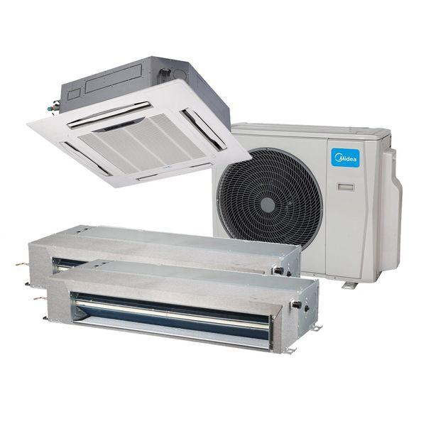 Ar-Condicionado-Multi-Split-Inverter-Springer-Midea-Duto-2x9.000-e-Cassete-4-Vias-9.000-BTU-h-Quente-e-Frio-Monofasico-38MBTA27M5-–-220-Volts