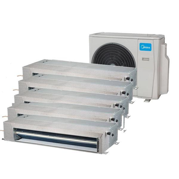 Ar-Condicionado-Multi-Split-Inverter-Springer-Midea-Duto-4x9.000-e-1x12.000-BTU-h-Quente-e-Frio-Monofasico-38MBPA42M5-–-220-Volts