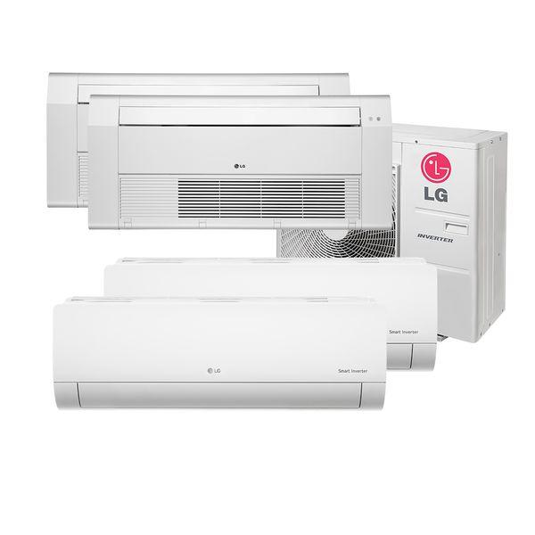 Ar-Condicionado-Multi-Split-Inverter-LG-2x7.000-e-Cassete-1-Via-1x9.000-e-1x18.000-BTU-h-Quente-e-Frio-Monofasico-A4UW30GFA2.AWGZBRZ-–-220-Volts