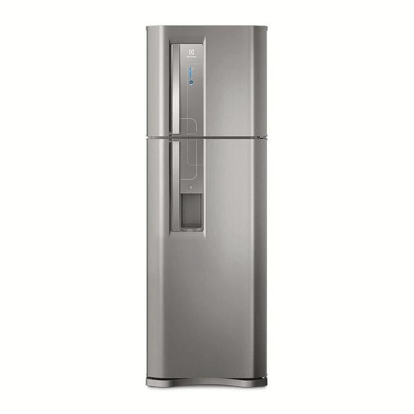 Refrigerador-Electrolux-Frost-Free-382-Litros-Top-Freezer-com-Dispenser-de-Agua-Platinum-TW42S-–-127-Volts