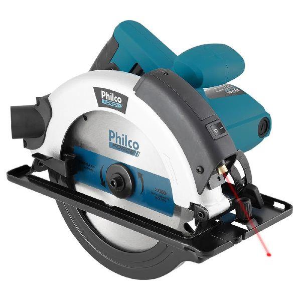 Serra-Circular-Philco-com-Disco-de-Corte-Azul-PSC01-–-220-Volts