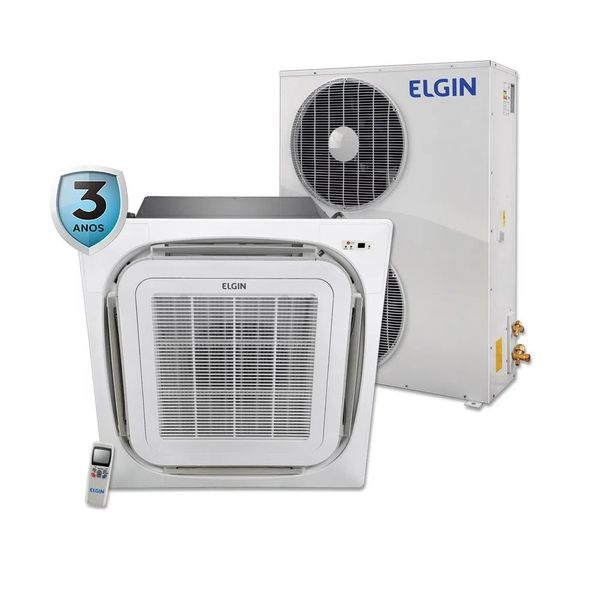 Ar-Condicionado-Split-Cassete-Elgin-360°-Atualle-Eco-60.000-BTU-h-Quente-e-Frio-Trifasico-45KTQI60B2IC-–-220-Volts