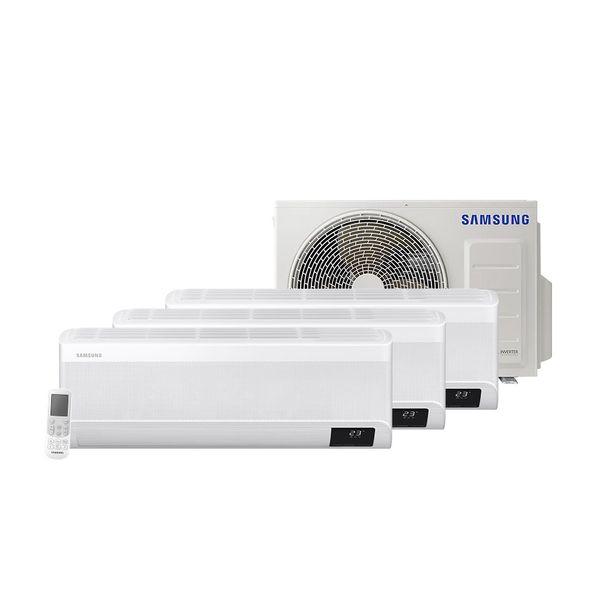 Ar-Condicionado-Multi-Split-Inverter-Samsung-Hi-Wall-1x9.000-e-2x12.000-BTU-h-Frio-Monofasico-AJ068TXJ3KH-EA-–-220-Volts