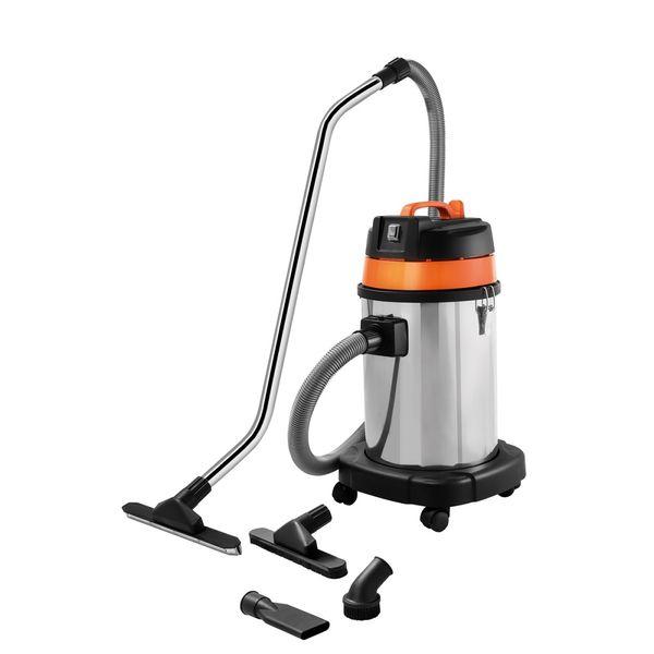 Aspirador-de-Po-para-Solidos-e-Liquidos-Tramontina-30-Litros-1400W-Inox---127-Volts-