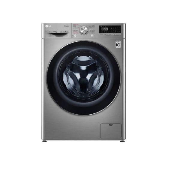 Lava-e-Seca-LG-Smart-VC4-13Kg-Aco-Escovado---127-Volts