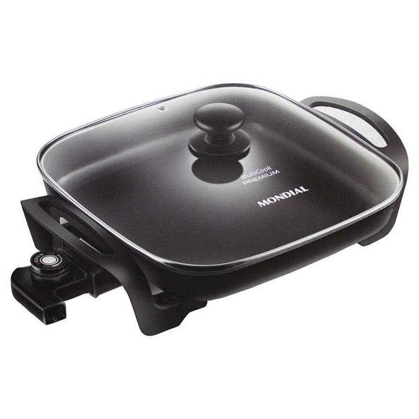 Panela-Eletrica-Mondial-4-Litros-Multicook-Premium-Preto-PE-49---220-Volts