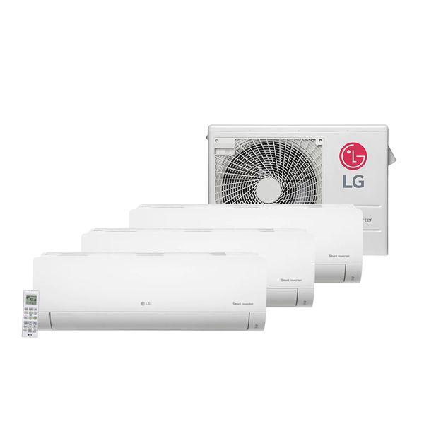 Ar-Condicionado-Tri-Split-Inverter-LG-1x9.000-e-2x12.000-BTU-h-Quente-e-Frio-Monofasico-A3UW24GFA3.AWGZBRZ---220-Volts