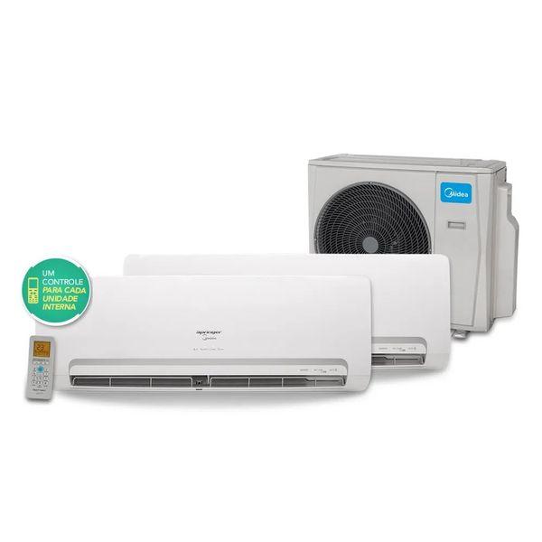 Ar-Condicionado-Bi-Split-Inverter-Springer-Midea-1x9.000-e-1x12.000-BTU-h-Quente-e-Frio-Monofasico-38MBBA18M5---220-Volts-