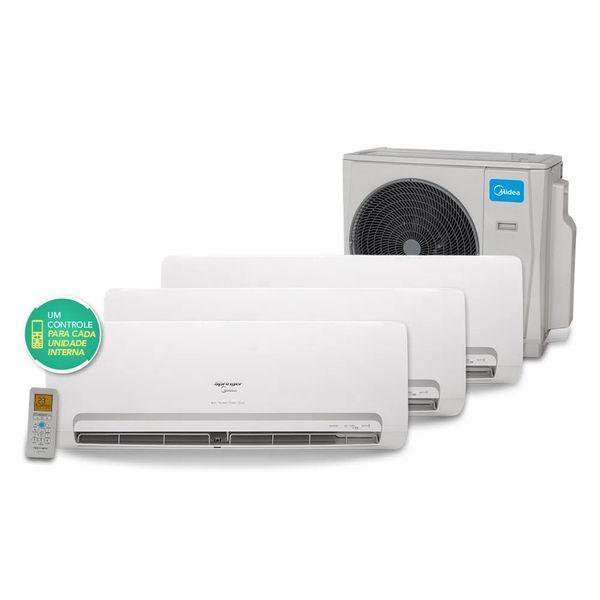Ar-Condicionado-Tri-Split-Inverter-Springer-Midea-3x9.000-BTU-h-Quente-e-Frio-Monofasico-38MBTA27M5---220-Volts