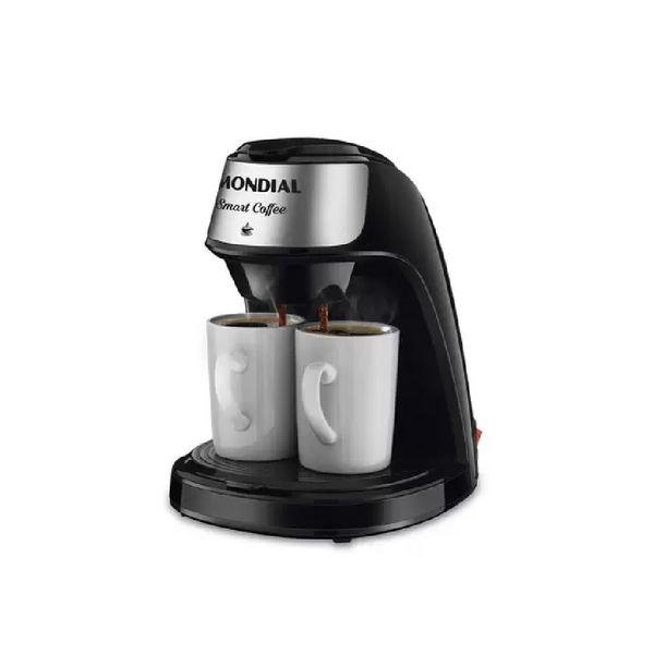 Cafeteira-Eletrica-Mondial-Smart-Coffee-Preta-C-42-2X-BI---220-Volts