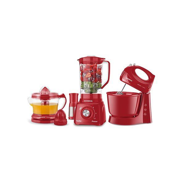 Conjunto-Especial-Mondial-Liquidificador-Batedeira-e-Espremedor-Vermelho-KT-105-R-–-220-Volts