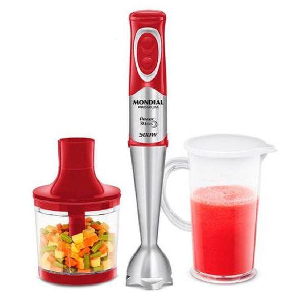 Power-Mixer-Mondial-Premium-500W-Vermelho-Inox-M-10---220-Volts