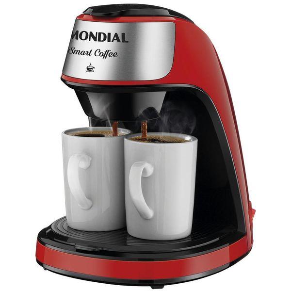 Cafeteira-Eletrica-Mondial-Smart-Coffe-Vermelha-Inox-C-42-2X-RI---127-Volts-
