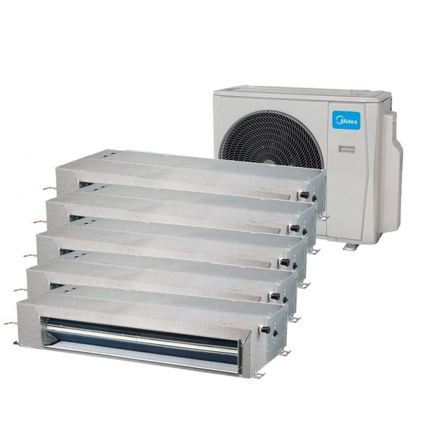 Ar-Condicionado-Multi-Split-Inverter-Springer-Midea-Duto-5x9.000-BTU-h-Quente-e-Frio-Monofasico-38MBPA42M5-–-220-Volts