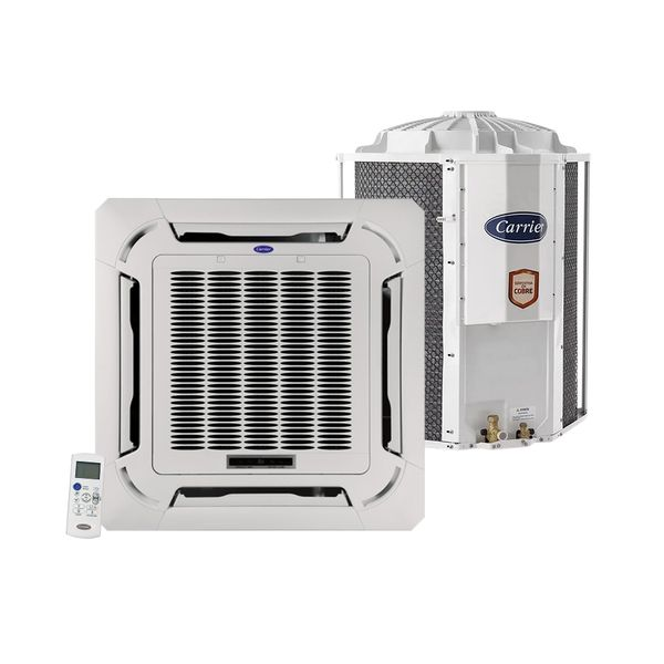 Ar-Condicionado-Split-Cassete-Carrier-Inverter-30.000-BTU-h-Frio-Monofasico-40KVCB30C5-–-220-Volts